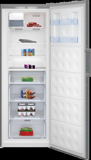 Beko Upright Freezer (open)-1