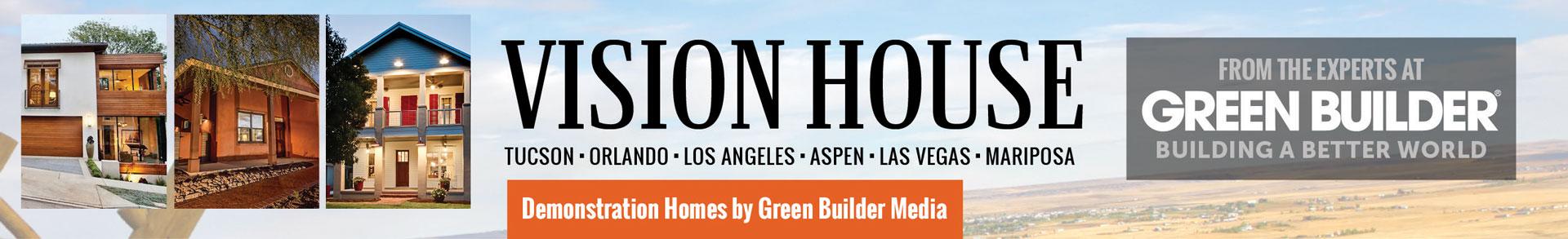 Green Builder Vision House Banner