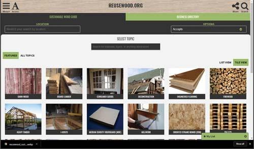 AWC-Reuse Wood Directory