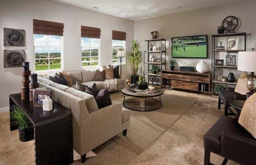 Lennar Homes Family Room Powersmart