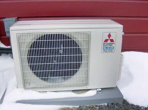 Mitsubishi Mini-Split Heat Pump