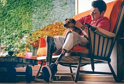 Disability tech - Luna Azul 3 (dog) carousel