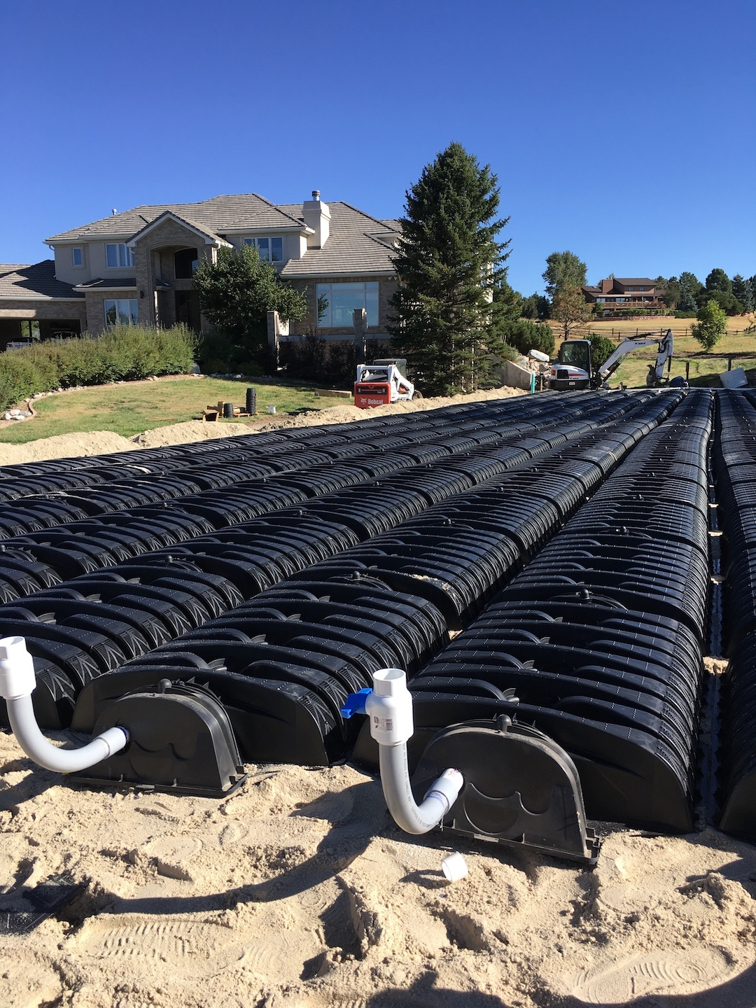 Douglas County, CO Home septic drainfield