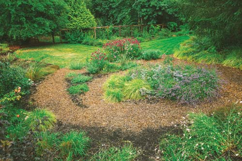 Perennial Stroll Garden for birds and bees