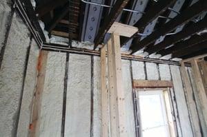 Wall in an EHB Home