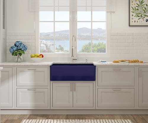 Bocchi Classico 30_ Sink in Sapphire Blue-web