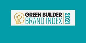 Green Builder Brand Index 2021