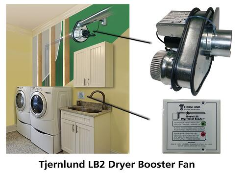 Tjernlund LB2 Laundry Room