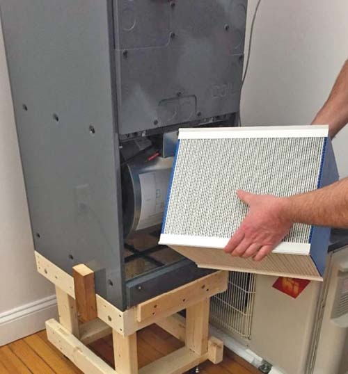 Science B HVAC system - Mitsubishi