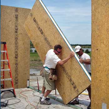 Click for Articles on Stick Framing, SIPS, ICFs and CMU Structural Systems