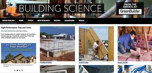 Green Builder Media Building Science