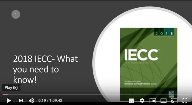2018 IECC webinar