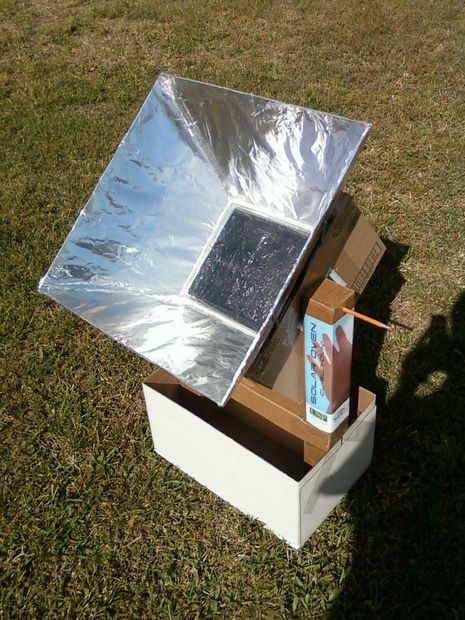 Build A Working Solar Oven With Cardboard And Tin Foil And