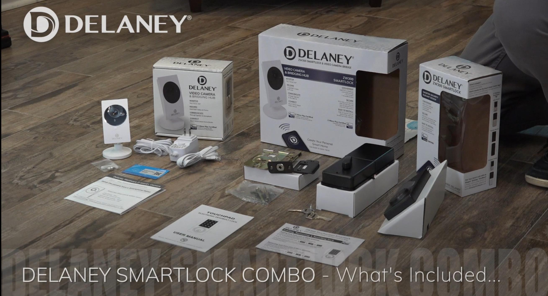 Delaney Smartlock Combo