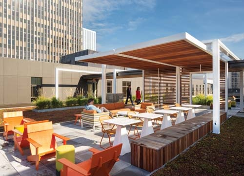 Hassalo on Eighth Green Roof