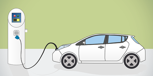 Electric Car and Charger featured