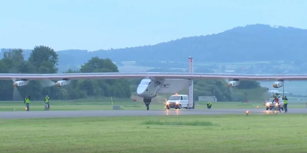 The Solar Impulse Takes Flight