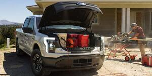 Ford's All-Electric F-150: Faster Than a Raptor. Less Polluting Than a Prius.