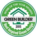 Best Inspired Design 2015 Green Home of the Year