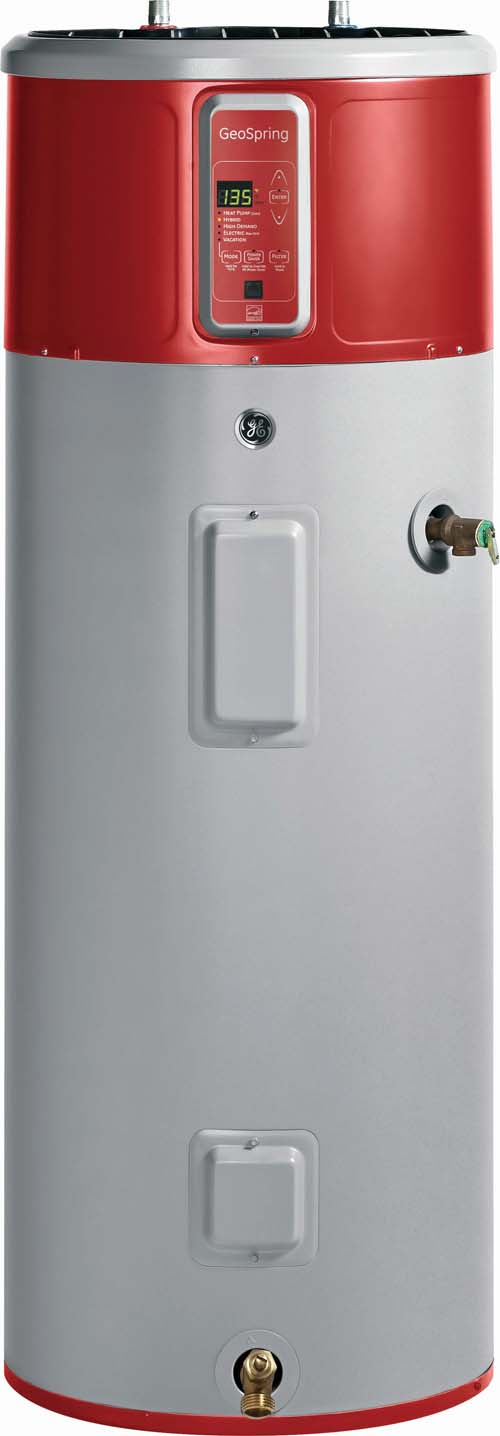 GE GeoSpring Hybrid Heat Pump Water Heater