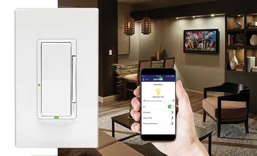 Leviton Decora Digital Controls with Bluetooth technology