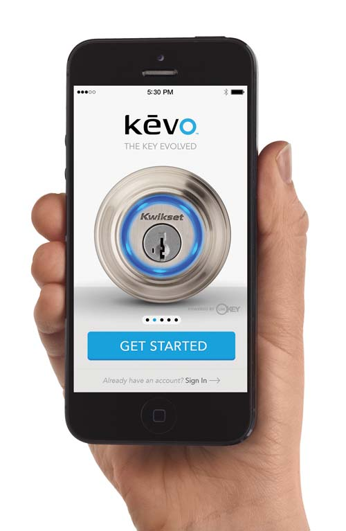 Kevo 2nd Generation Touch-to-Open Smart Lock