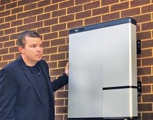 LG Chem RESU 10H Solar Battery