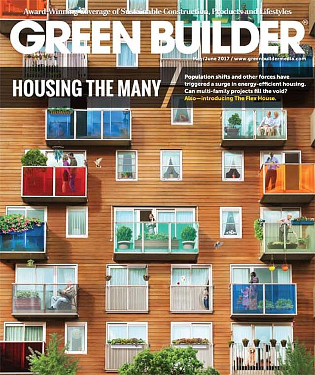 May-June 2017 issue of Green Builder
