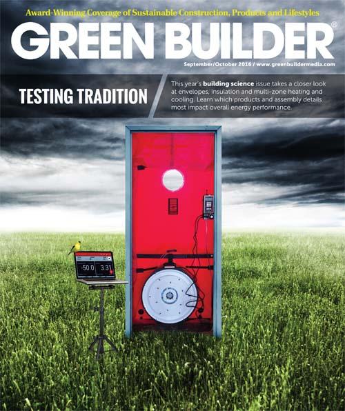 September/October 2016 Green Builder magazine