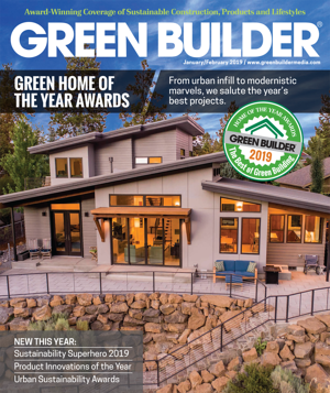 Green Builder Media Announces Winners of Green Home of the Year Competition