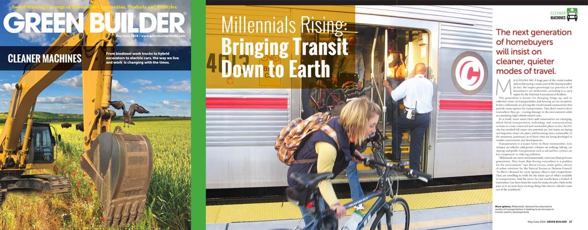 Current Issue Green Builder magazine
