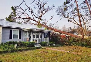 Metal Roof Serves as a Safety Shield During Hurricane Michael