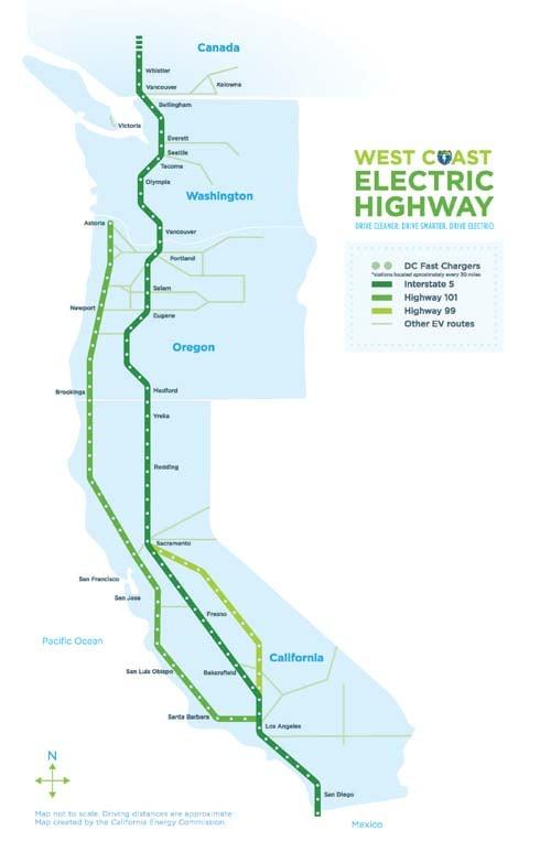 West Coast Electric Highway