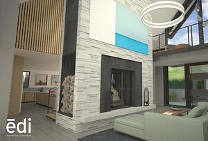Masonry Fireplace: Its Role In a High-Performance House