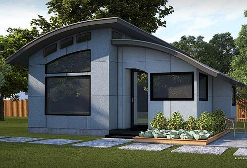 Flex House gray roof-1