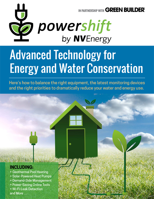 Advanced Technology for Energy and Water Conservation