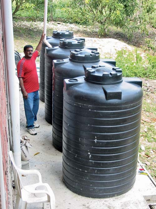 Saving Water - Rainwater storage-web