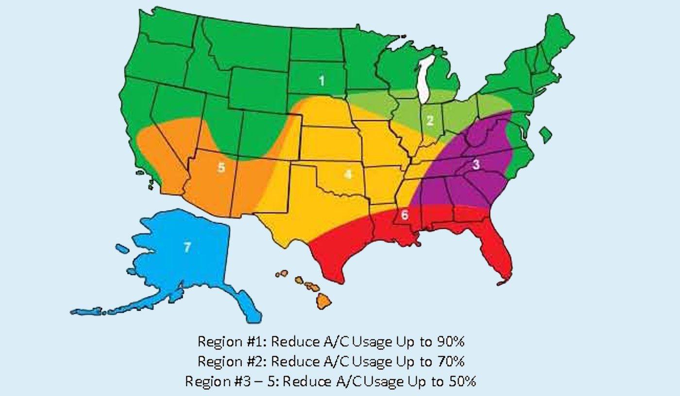 Skylight-ventilation-regional-effectiveness