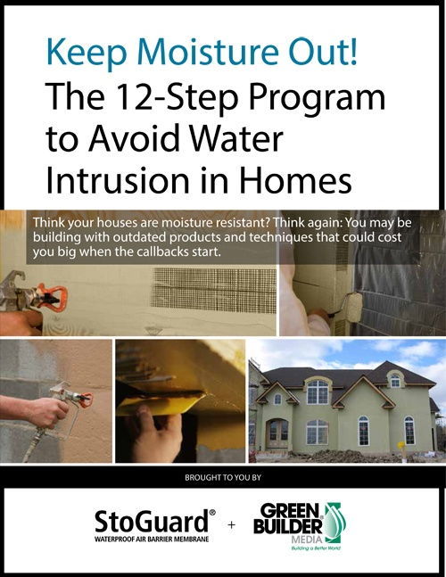 Sto Residential Ebook on Avoiding Water Intrusion in Homes