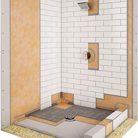 Waterproofing Quot Kit Quot Solves The Tiny House Shower Problem