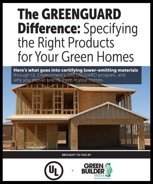 The GREENGUARD Difference eBook from UL Environment