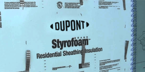 With Additional Bracing, Styrofoam Can Serve as Sheathing Without OSB Panels