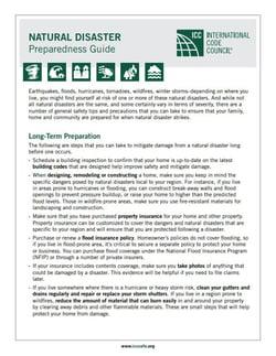 icc preparedness guide