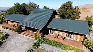 Log Cabin Roof Takes Top Honors in Metal Roof Competition