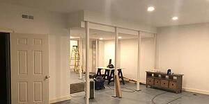 Stay-At-Home Basement Transformation