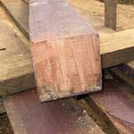 demolished wood