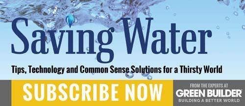 Saving Water Subscribe Now