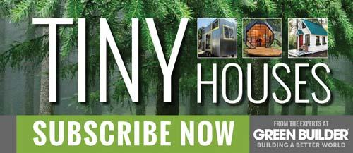 Tiny House Blog Feed Subscription Signup