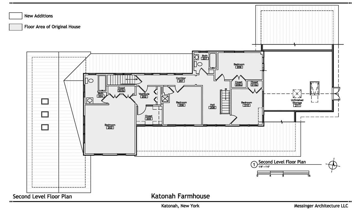 Black (Katonah) second level plan-300