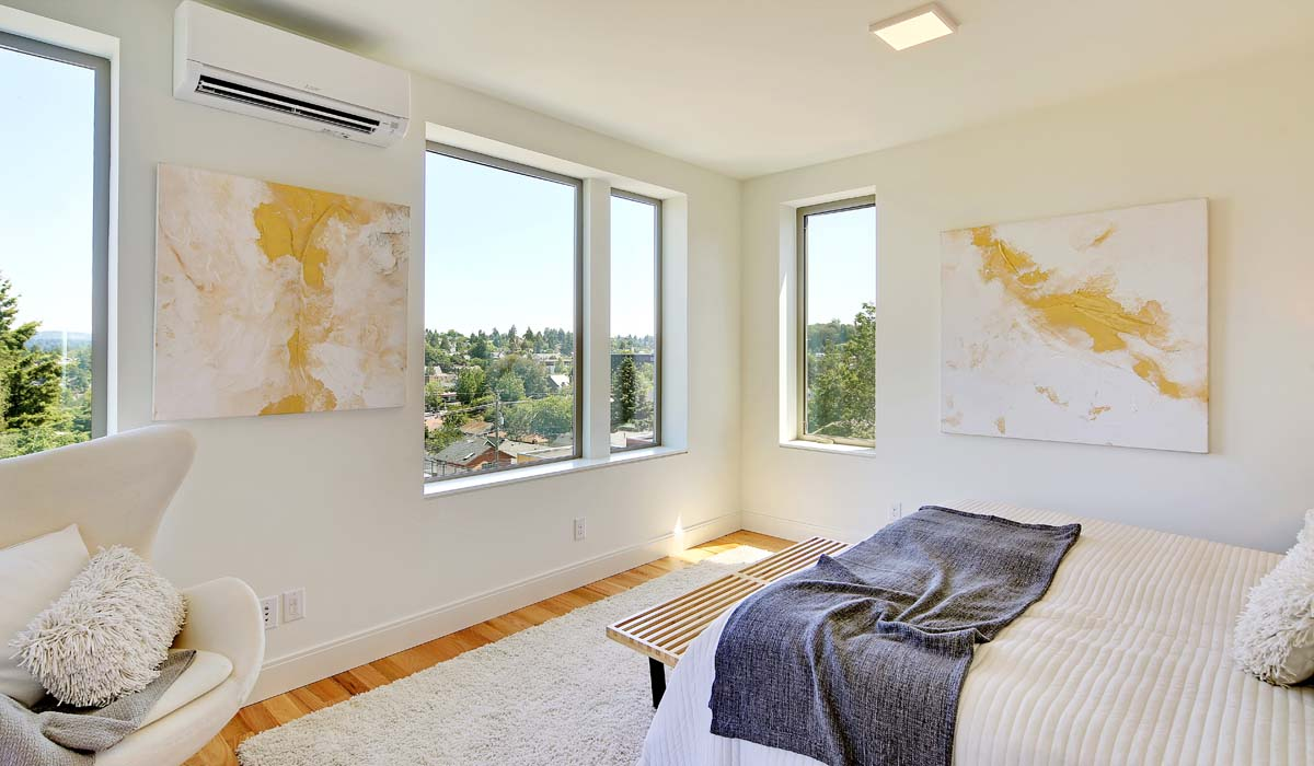 Northwest Net Zero bedroom